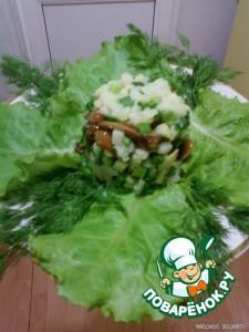 лесной салат